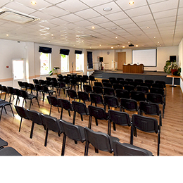 4 conference halls for 20, 36, 40 and 110 seats